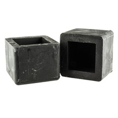 Mokerdop rubber 1500 gram kopmaat 42 x 42 mm