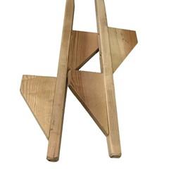 Houten Stelten 2-stuks 200 cm dubbeltraps