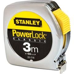 Stanley rolbandmaat 3 meter powerlock