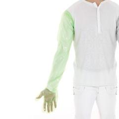 Veterinaire Armhandschoenen 92 cm Groen, 100 stuks