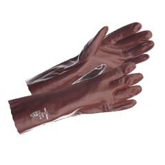 Safeworker Werkhandschoen PVC Vloeistof Dicht 35 CM Maat 10