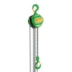 Kettingtakel 1500 Kg x 3 meter Delta Green / Handkettingtakel