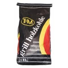 Houtskool THM zak 3 kg