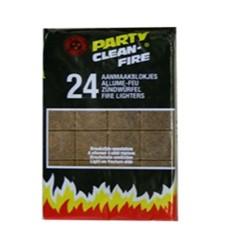 Aanmaakblokjes Party Bruin doos a 24 stuks