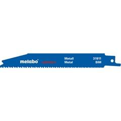 Metabo reciprozaagbladen metaal BiM 5 st. 150x0,9 mm