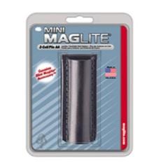 Holster leer AA Maglite 0820 zwart