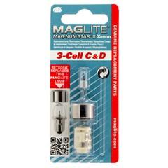 Maglite Reservelampje Xenon 3-Cell