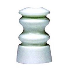 Rolisolator Kunststof (USA-Spijkerisolator) Wit - 25 Stuks