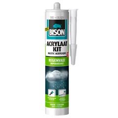 Bison acrylaatkit regenvast wit 310 ml