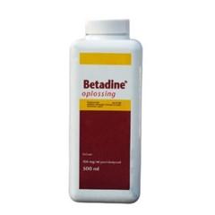 Betadine Oplossing 500 ml