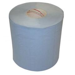 Poetspapier 2-laags 21cmx180m blauw