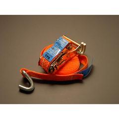 Spanband ratel 2 delig met haken 5 meter x 25 mm
