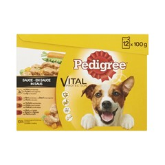 Pedigree Multipack Pouch Adult Selection 12x100gr