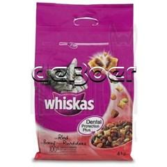 Whiskas Droge brokjes Rund en Worteltjes 4 kg