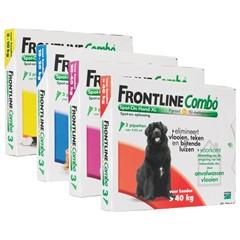 Frontline combo vlooiendruppels hond 20 - 40 kg
