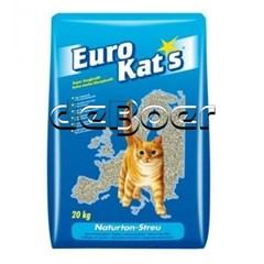 Eurokats Orange kattenbakvulling inhoud 20 Kg