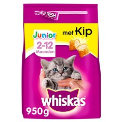 Whiskas kitten droge brokjes 300 Gr.