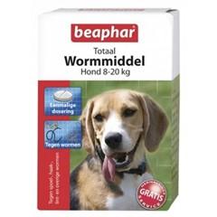 Beaphar Wormtablet Hond Middel 2-Stuks