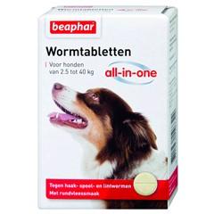 Beaphar Wormtablet Hond Groot 4-Stuks