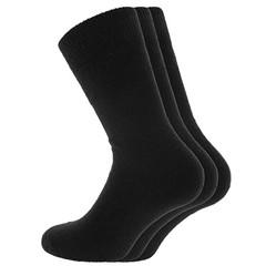 Men Socks Sokken Thermo Zwart