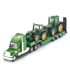 Siku 1837 - Dieplader & John Deere Tractoren 1:87
