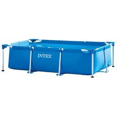 Intex Opzetzwembad Metal Frame Rechthoekig - 260 x 160 x 65 cm