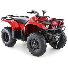 Yamaha ATV Grizzly 350 4WD Rood