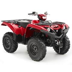 Yamaha ATV Grizzly 700 4WD EPS Rood