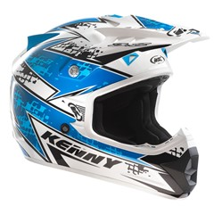 Motorhelm Track Adult maat XL kleur Blauw