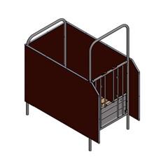 Spinder Basisbox 92 Cm - Inclusief Emmer en Voederschaal