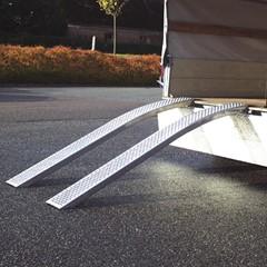 Oprijplanken Aluminium 700 - 750 MM