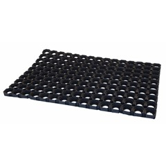 Deurmat Domino Rubber 800X500x23mm (Stuk)