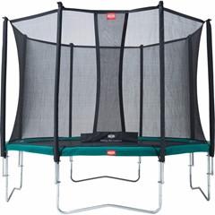 Berg Favorit 380 + Safety Net Comfort, Groen
