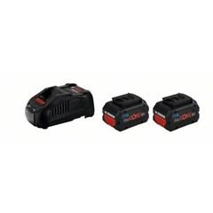 Bosch 2 x ProCORE Accu's En Oplader 18V 5.5 Ah + GAL 1880 CV