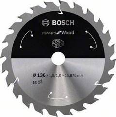 Bosch Cirkelzaagblad ACCU Standard For Wood 150x20/16x1.6/1.0x24T