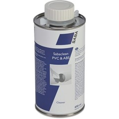 Saba Reiniger 0,65ltr type Sabaclean PVC & ABS