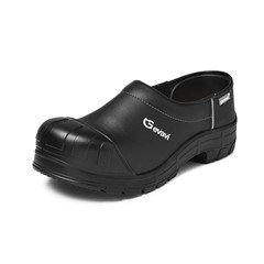 Syrdic gesloten flex schoenklomp PU S3 zwart