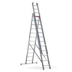 Atlantis - aluminium ladder (gecoat) - 3-delig reform