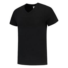 Tricorp T-Shirt Casual 101005 160gr Slim Fit V-Hals Zwart
