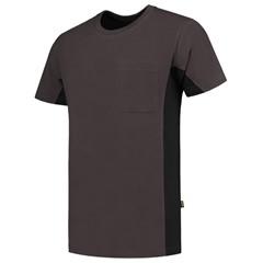 Tricorp T-Shirt Workwear 102002 190gr Donkergrijs/Zwart