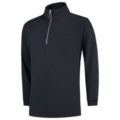 Tricorp Sweater Ritskraag Casual Marine