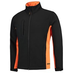 Softshell Bicolor - Black-Orange