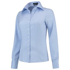 Tricorp Blouse Dames Slim Fit Blauw