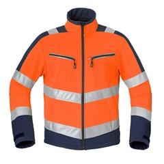 HAVEP Softshell Jas High Visibility Oranje/Marine