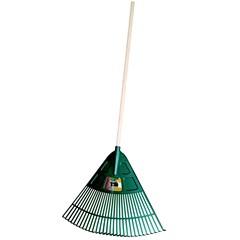 Lagee voerhark / bladhark 80 cm met steel