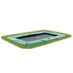 EXIT Trampoline Supreme Rechthoekig Groen - 214 x 366 cm