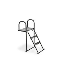 EXIT Trampoline platform met ladder voor framehoogte van 65-80cm