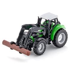 Siku 1380 - Deutz Tractor met Houtgrijper 1:87
