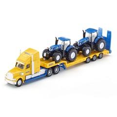 Siku 1805 - Vrachtwagen met New Holland Tractoren 1:87
