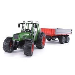 Bruder 02104 - Fendt 209s Tractor met Trailer 1:16